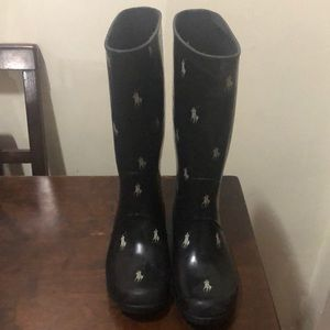 Polo rain boots